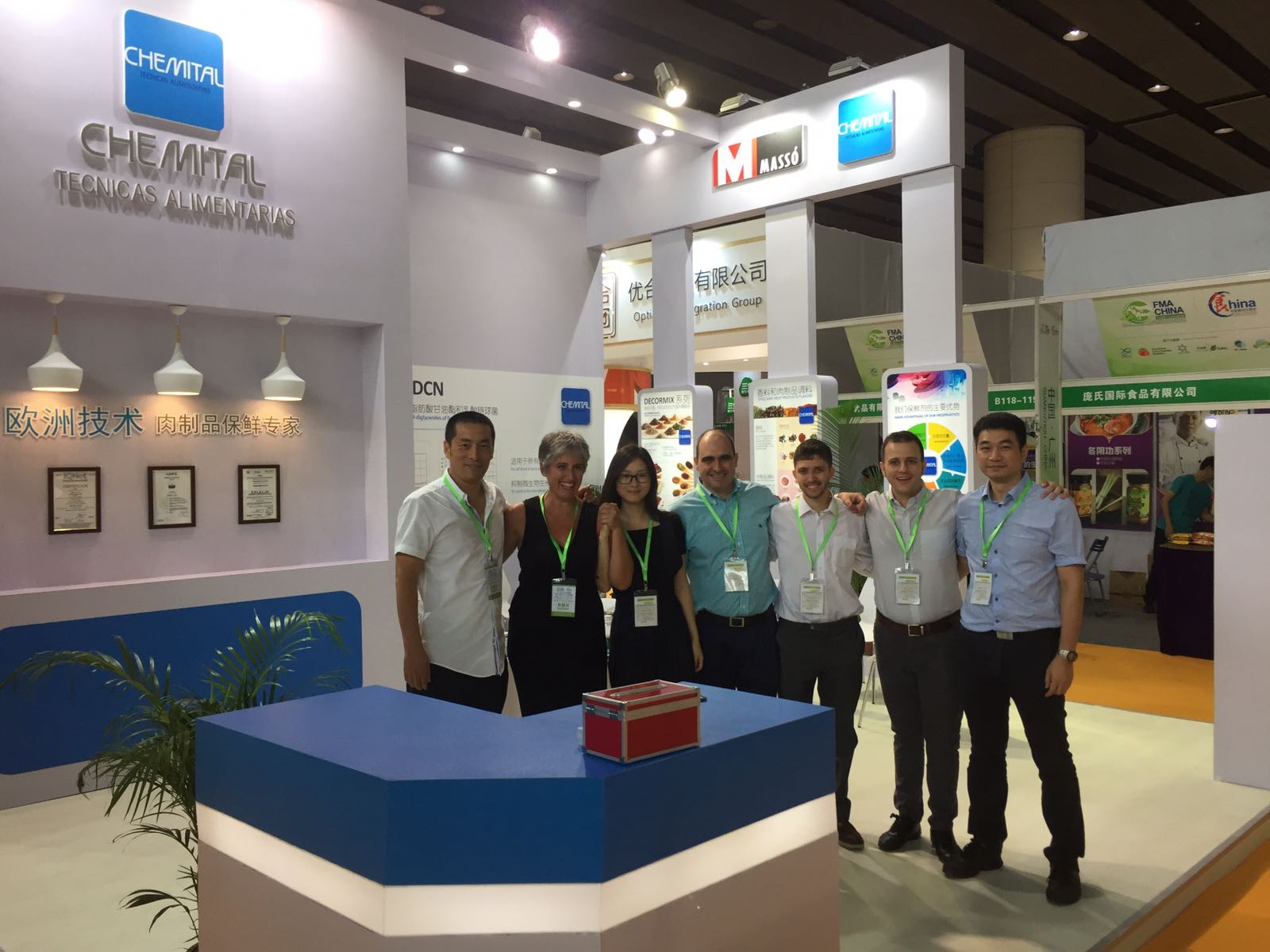 OUR CHEMITAL TEAM IN FMA EXHIBITION (CHINA)